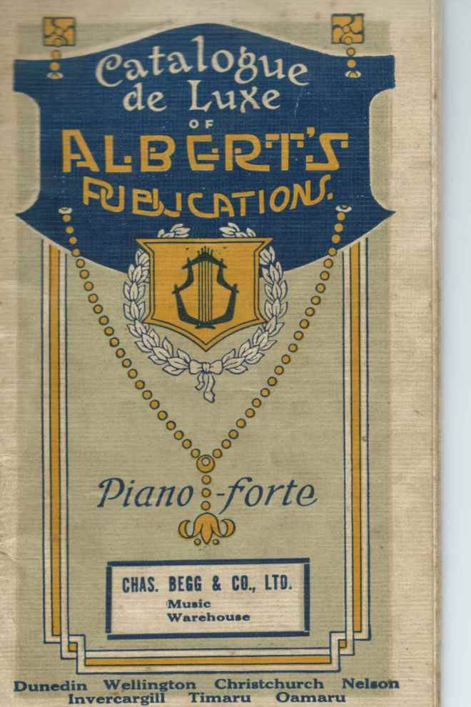 Albert's publications - cover