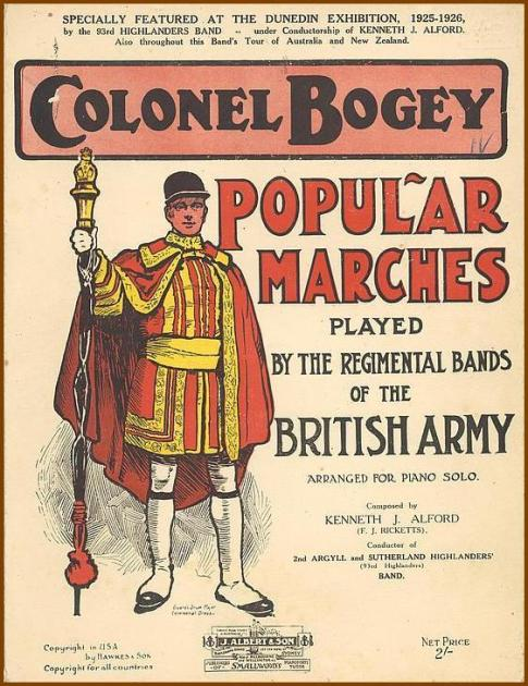 Colonel Bogey's popular marches